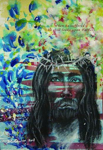 流行 Prophetic Art 先知性繪畫- 安然居住在天父的家